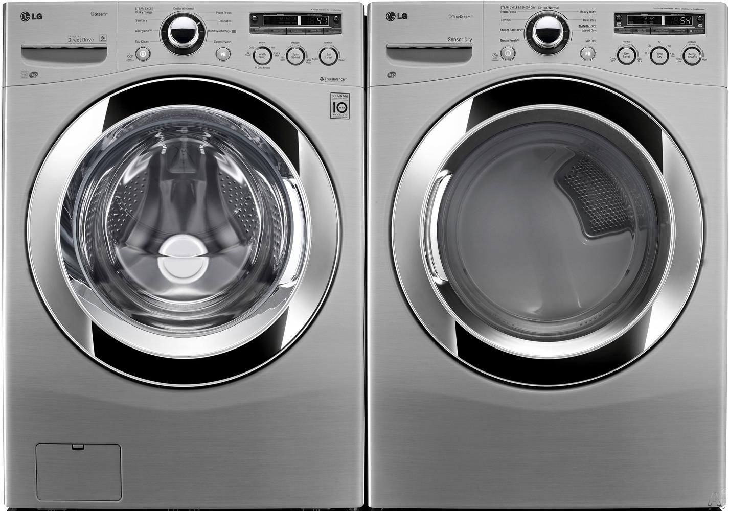 Lg Lg Fl Lg Series Front Load Washer Dryer Pair