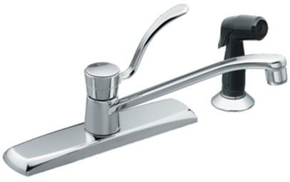 spout kitchen faucet with 12 inch reach