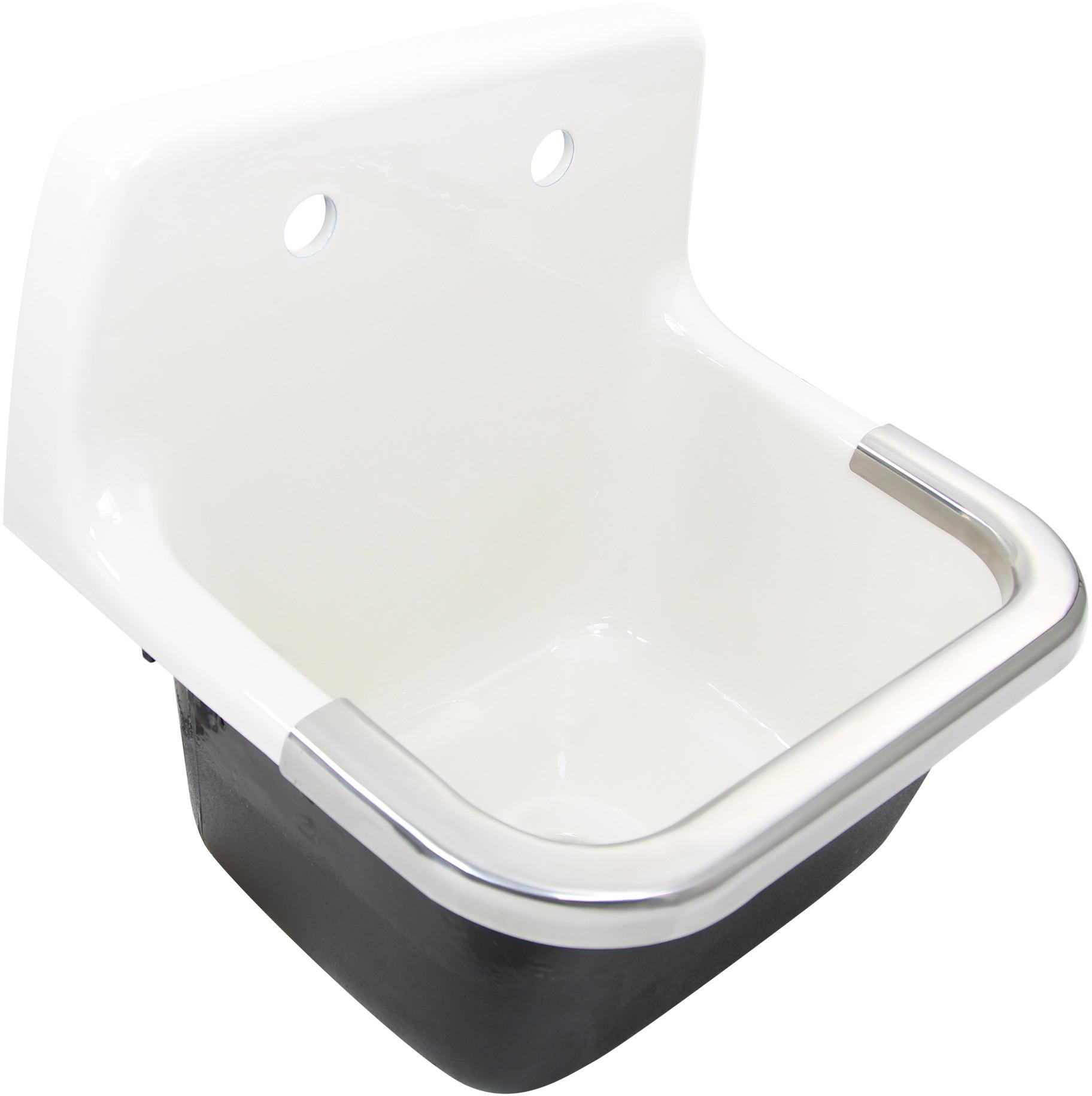 nantucket sinks ci2218w 22 inch cast