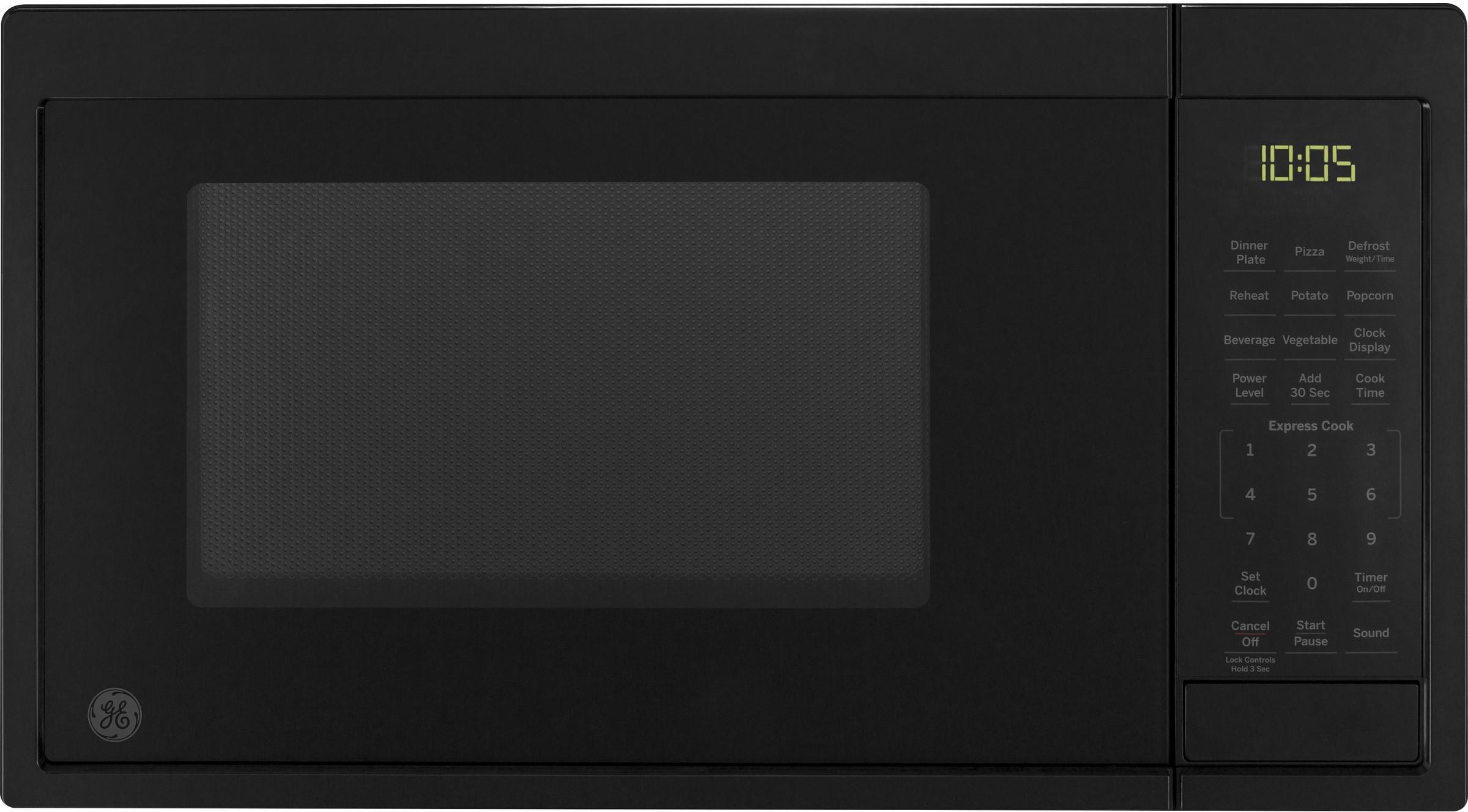 ge 0 9 cu ft countertop microwave oven