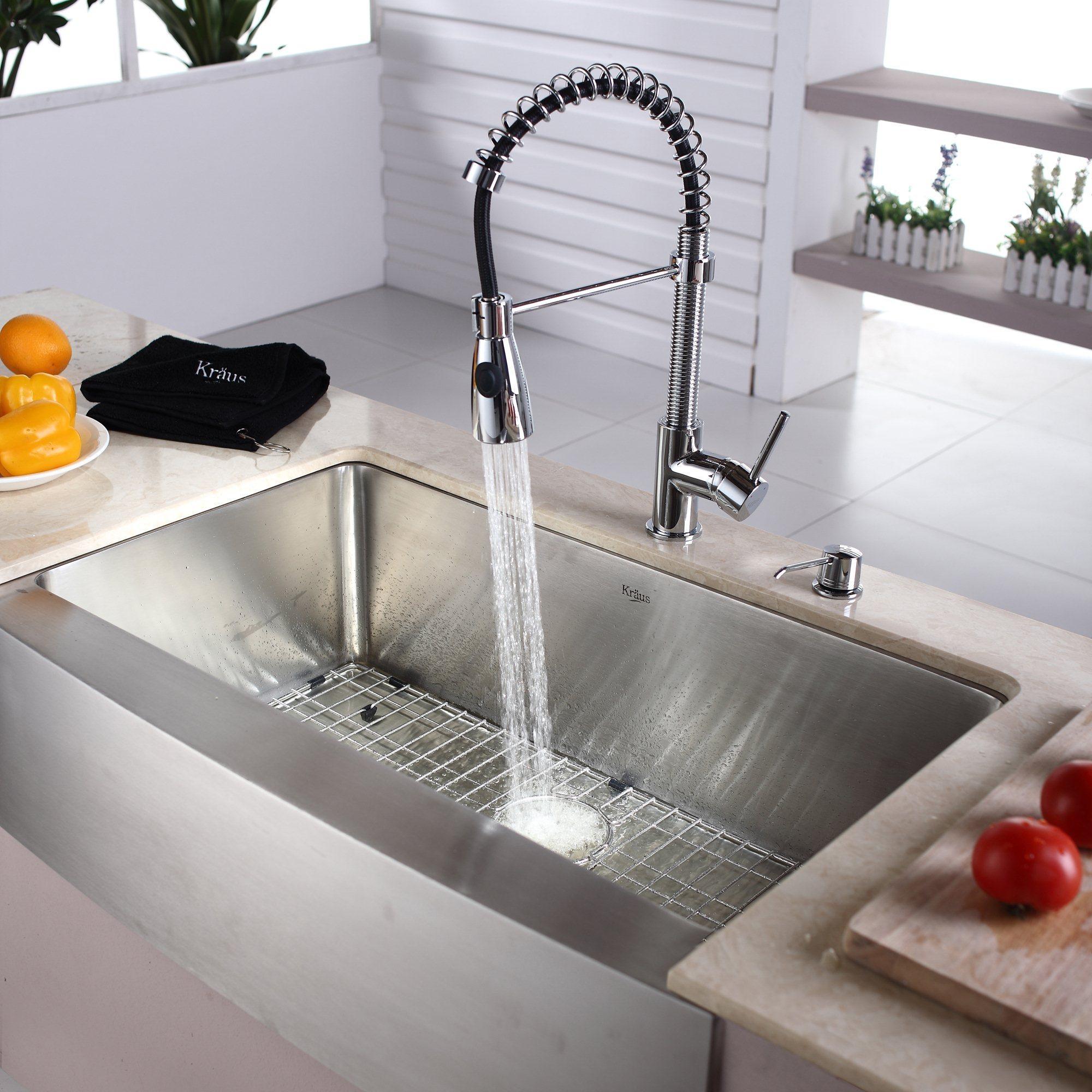 kraus kitchen combo series khf20033kpf1612ksd30ch