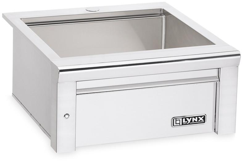 lynx drop in single bowl outdoor sink