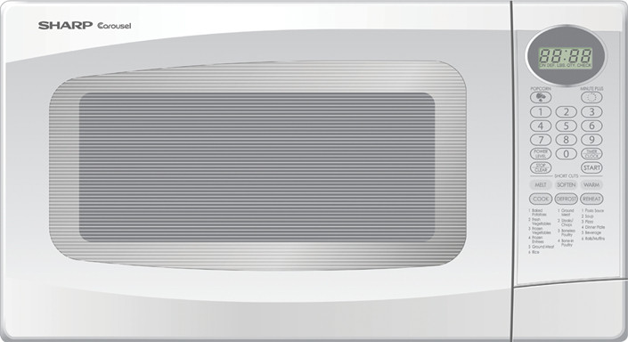 sharp r306lw 1 0 cu ft countertop