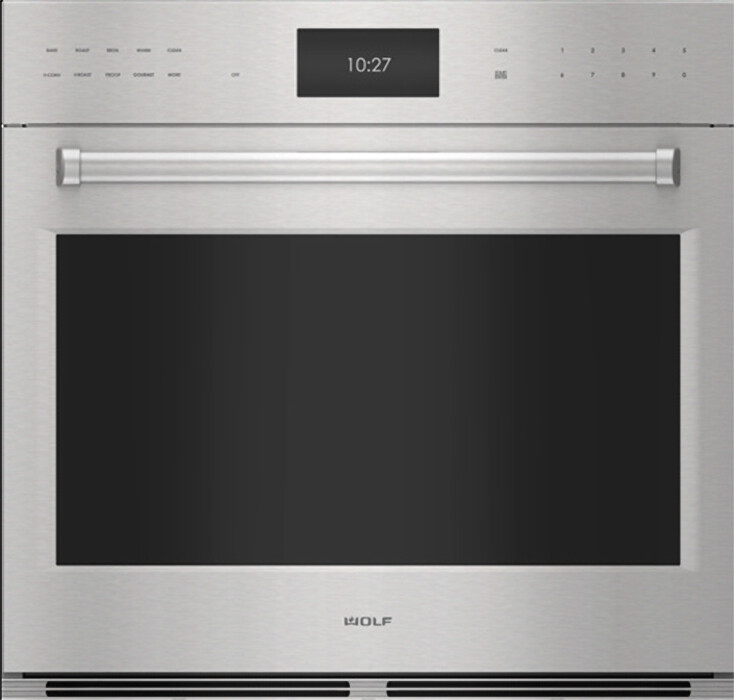 wolf e series 30 inch single smart electric wall oven