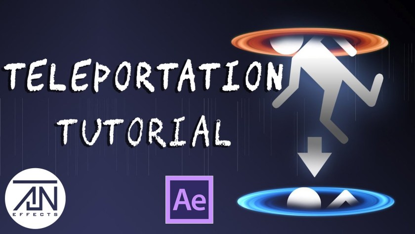 Advanced Teleportation Tutorial in After Effects