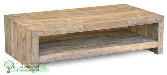 Couchtisch aus Holz (kolonialmoebel24.de)