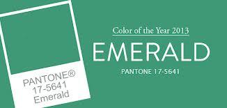 Trendfarbe emerald