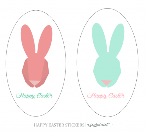 happy easter stickers- AJR