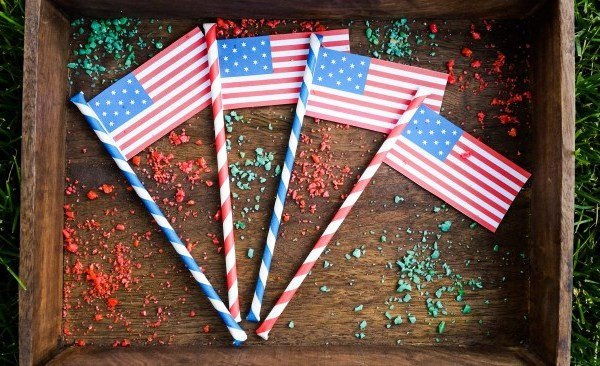 4th of July Pop Rock Sticks