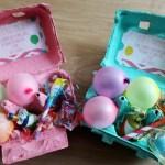 Egg Carton Birthday Party Invitation