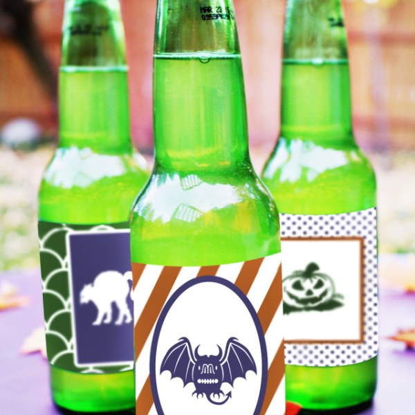 Halloween Soda Pop Labels | Free Printable Friday
