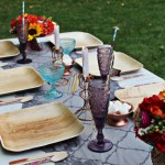 Bohemian Glamour Outdoor Dinner Party