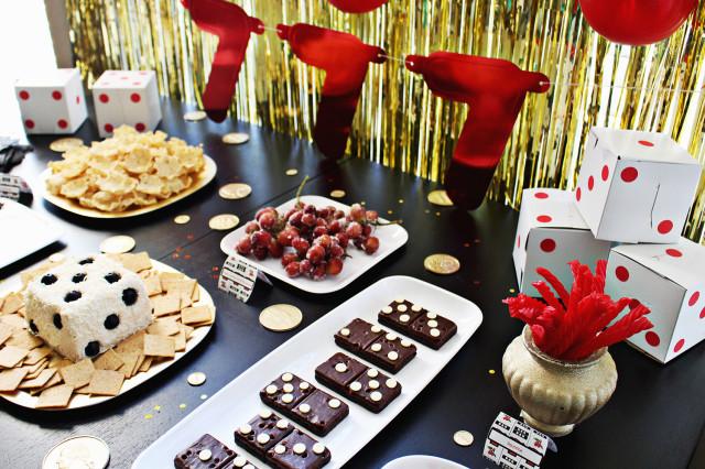 Vegas Casino Themed Party A Joyful Riot