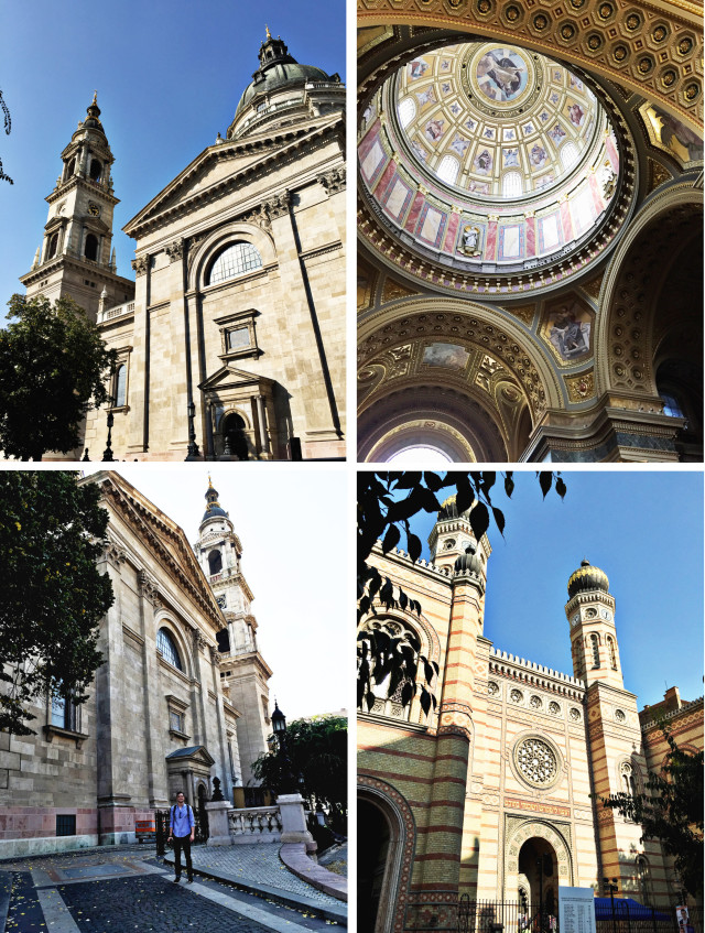 budapest saint stephens and synagogue