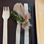 Feather + Twig Napkin Rings