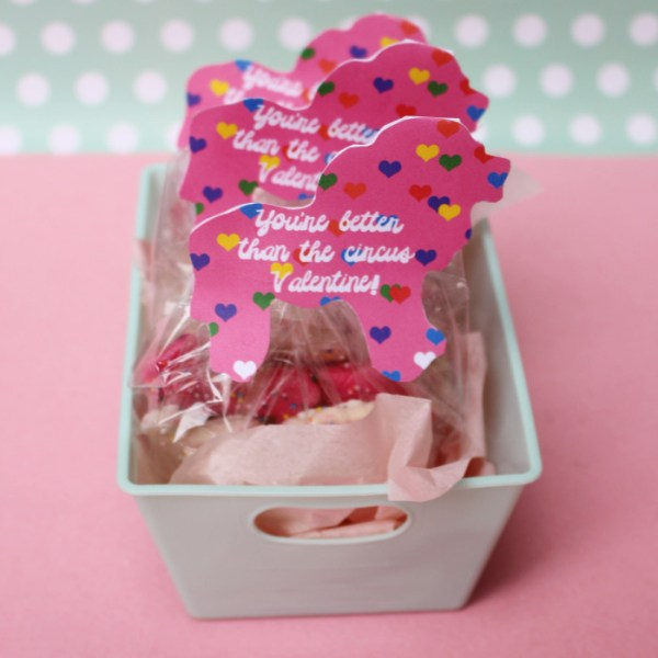 Circus Animal Cookie Valentines | Free Printable