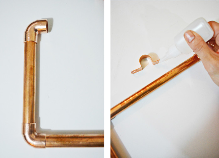 copper frames step2