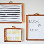 DIY Copper Frames