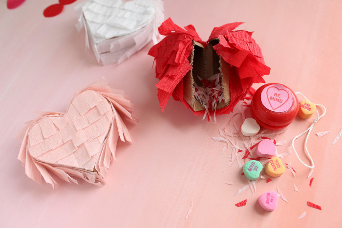 Mini Heart Breaker Valentine Pinatas | A Joyful Riot