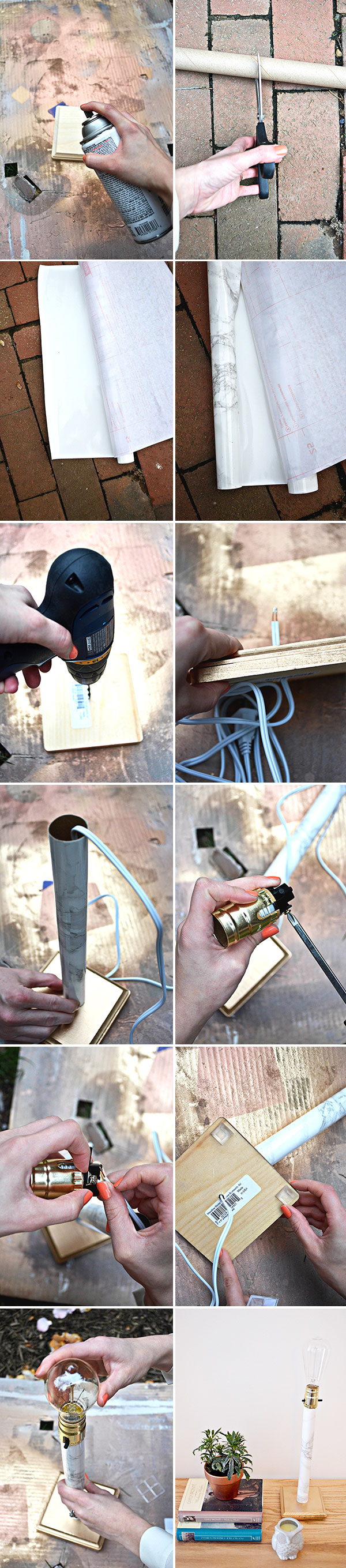fauxmarblelamp_steps