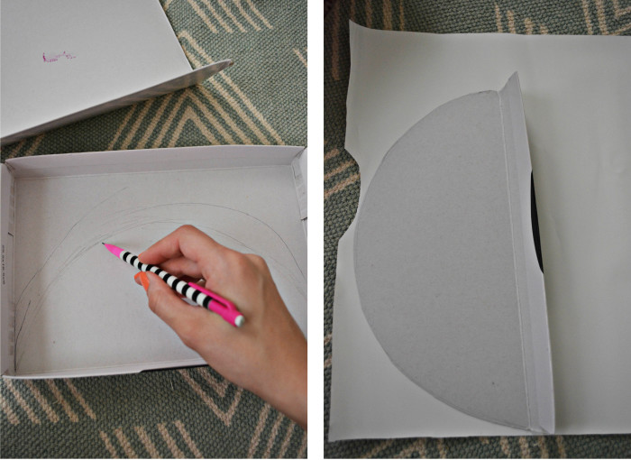 DIY Marble Magazine Holder | A Joyful Riot