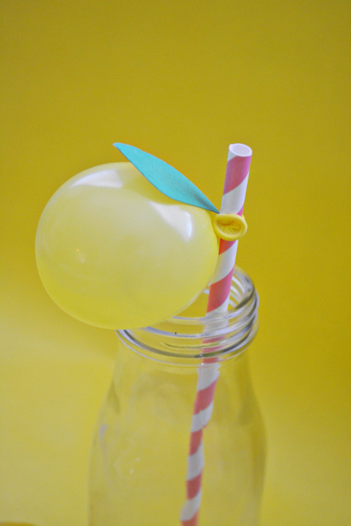 lemon balloon straws7