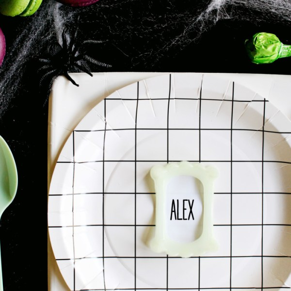 Vampire Teeth Place Cards