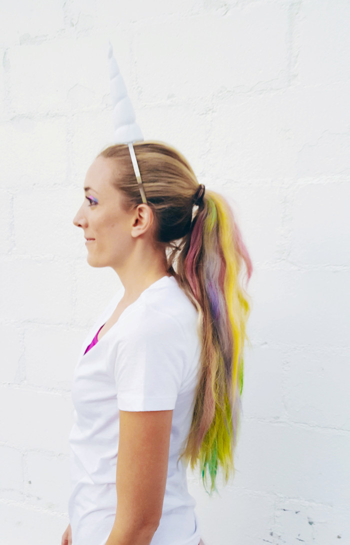 Pastel rainbow unicorn costume on ajoyfulriot.com @ajoyfulriot-3