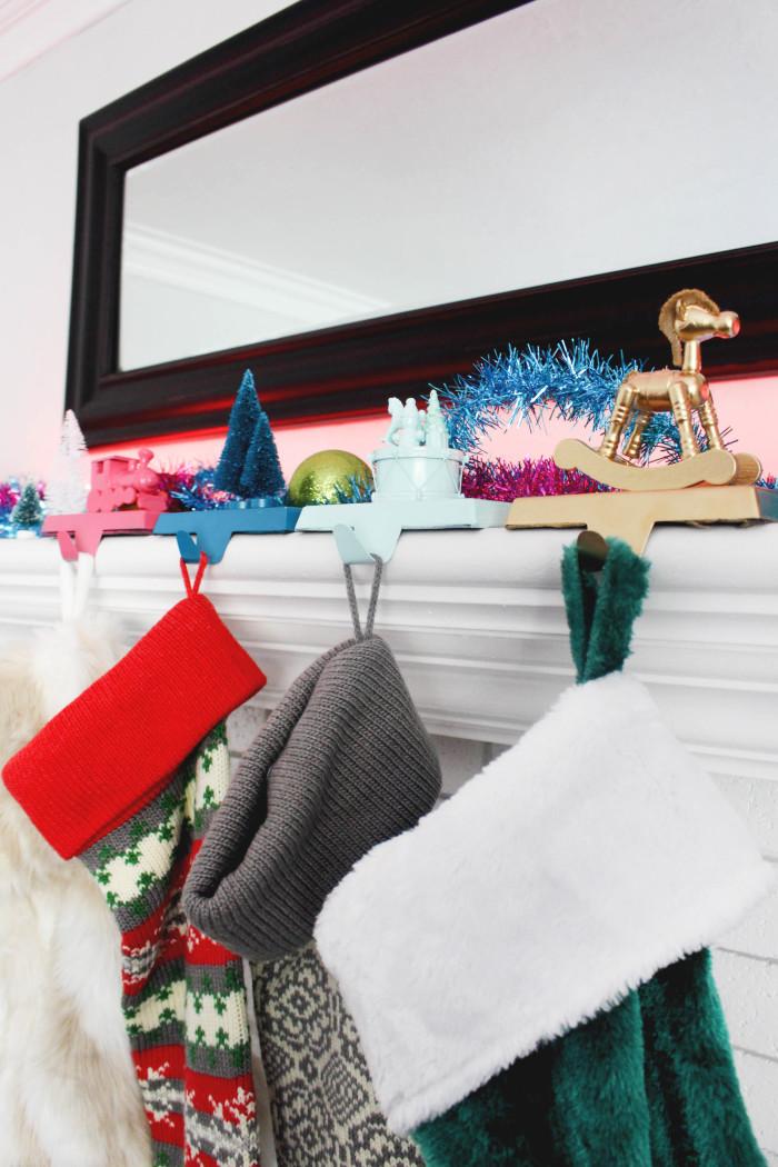 Whimsical Toy Stocking Hanger DIY-26