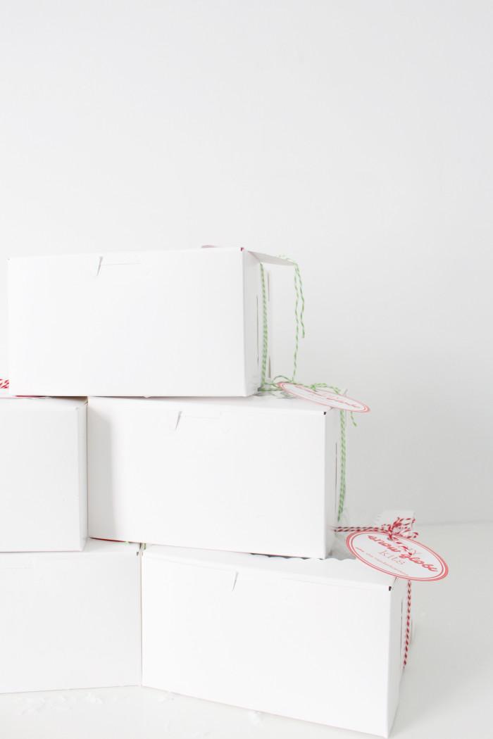 DIY snow globe kits are the perfect neighbor, friend and teacher gifts this season. Free printable tags and instruction cards via ajoyfulrio.com @ajoyfulriot