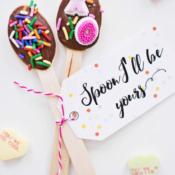"""Be Mine Spoon"" Valentine"