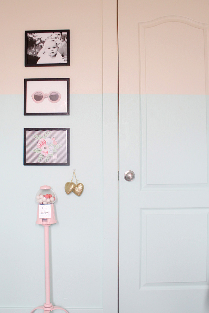 mint, pink, black, gold and silver nursery 16