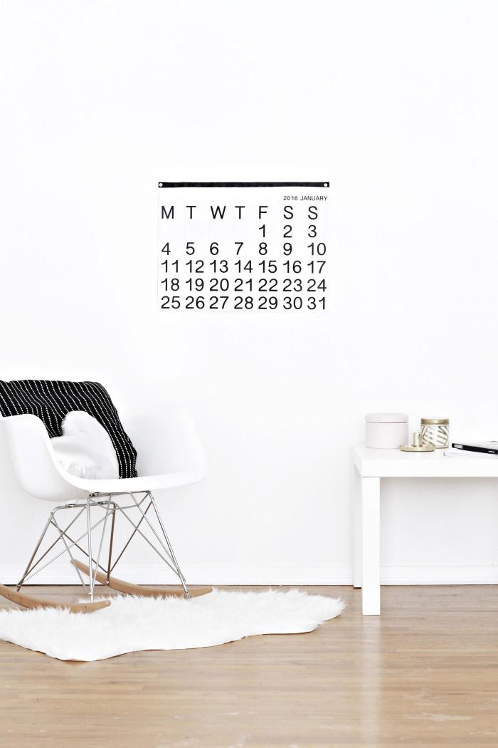 DIY stendig inspired free printable calendar 2016 from ajoyfulriot.com @ajoyfulriot 2