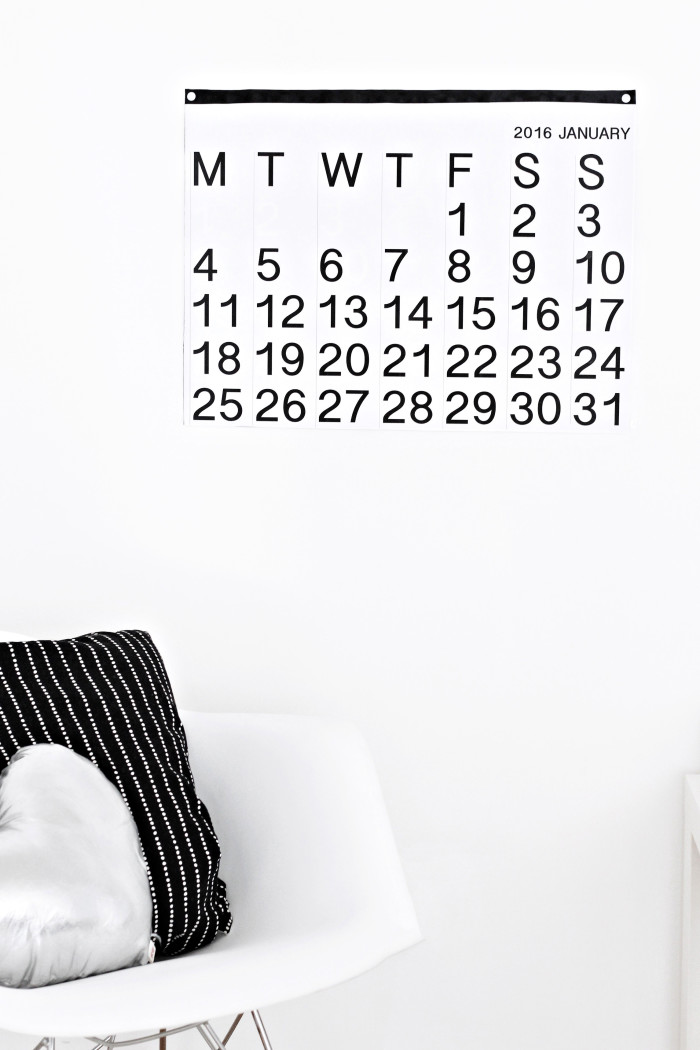 DIY stendig inspired free printable calendar 2016 from ajoyfulriot.com @ajoyfulriot 3