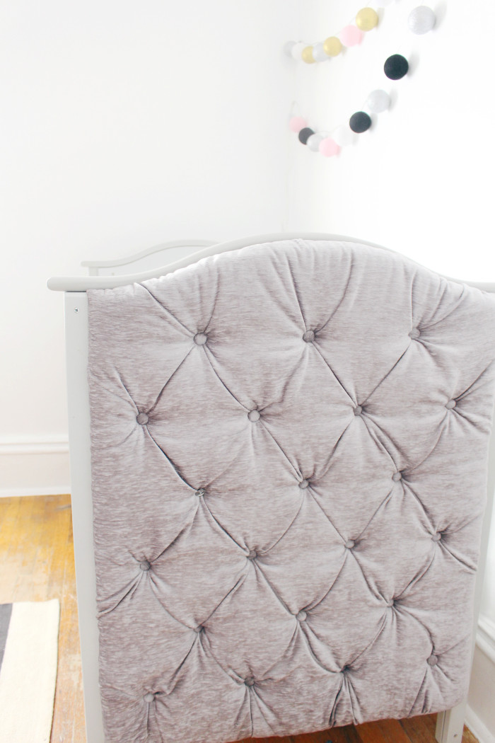 Black, white, pink nursery via ajoyfulriot.com @ajoyfulriot 25