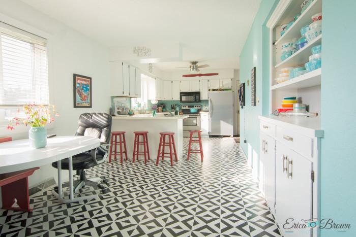 Painted-Floor