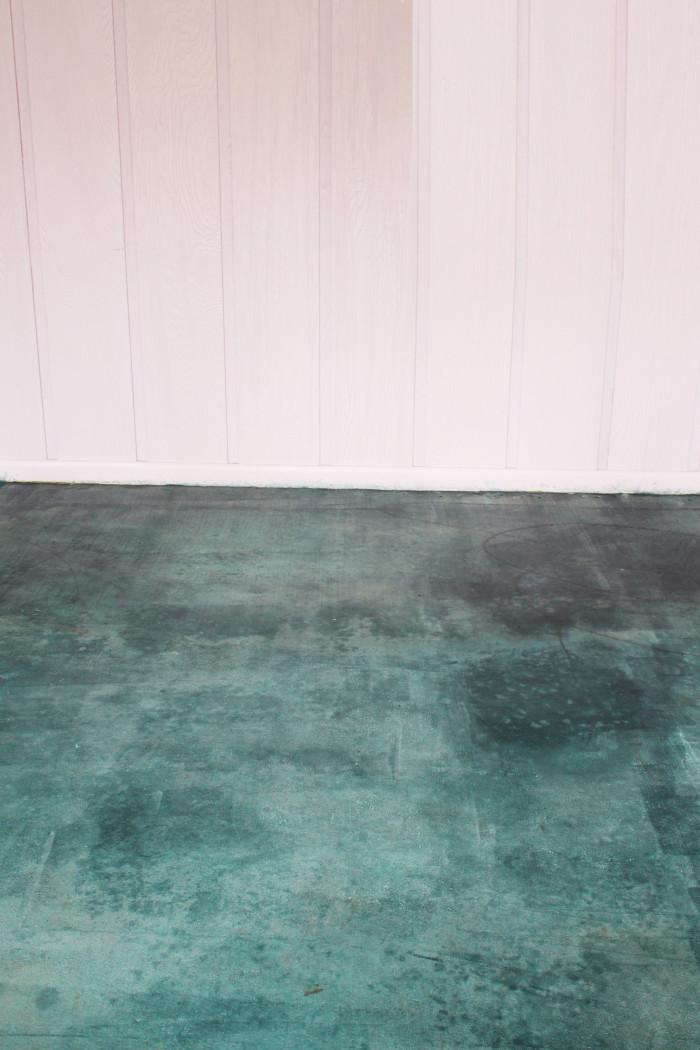 Diy Acid Stain Concrete Floors : Diy acid stained concrete floor a joyful riot