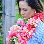 DIY fresh flower leis