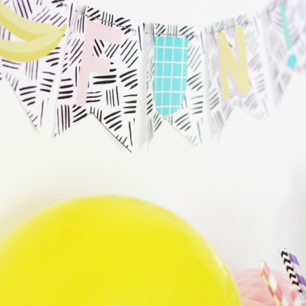 Free Printable SUMMER FUN Party Pack!