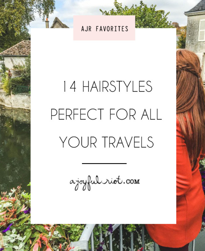 travel hairstyles roundup