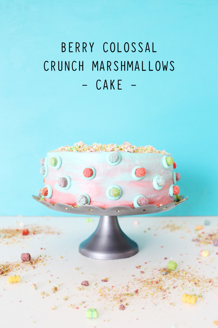 Captain Crunch Berries with Marshmallows Cake 11t