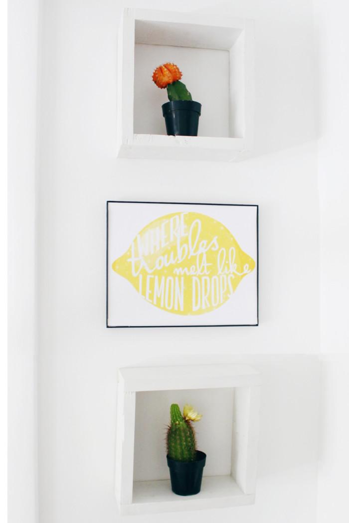 Free Printable Wizard of OZ, Over the Rainbow, Where Troubles Melt Like Lemond Drops print