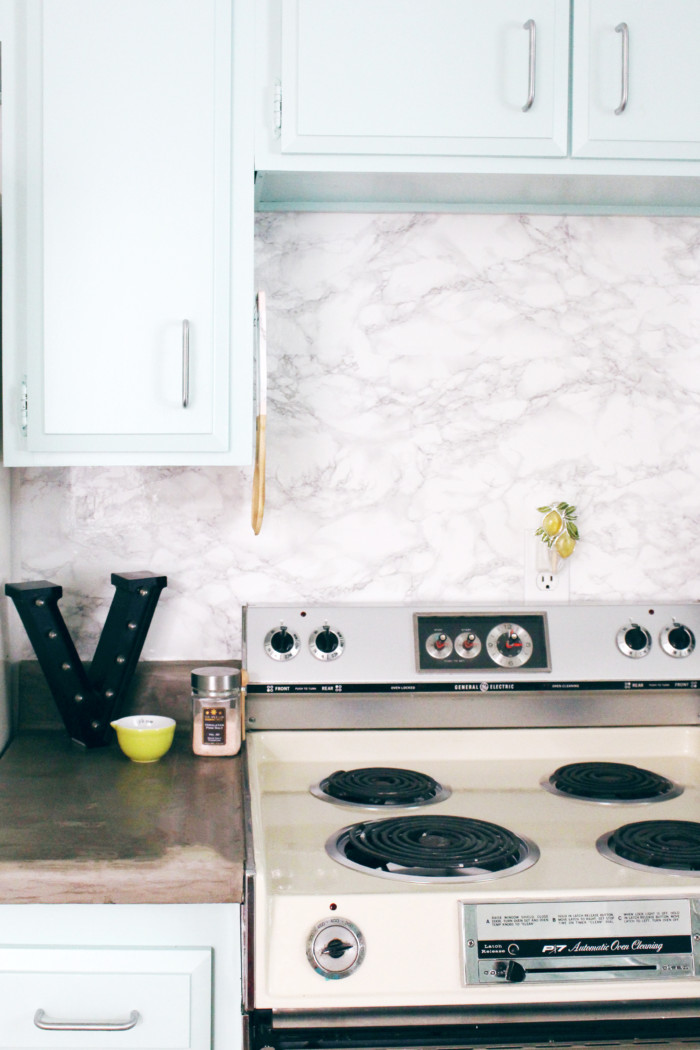 marble contact paper backsplash 10