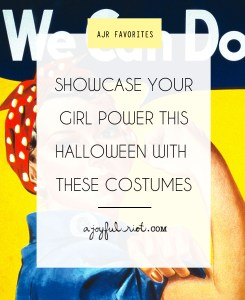Be a bad-A boss chick this halloween with these 10 DIY ideas that you can even complete at the thrift store! Via ajoyfulriot.com