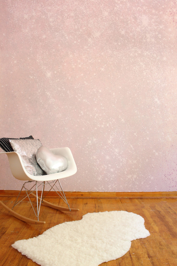 Glitter Wall Diy Making Your Own Glitter Paint A