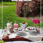 Doughnut Picnic, White Russian w/ Coffee and Doughnut Plates | Doughnut Party Blog Hop #2