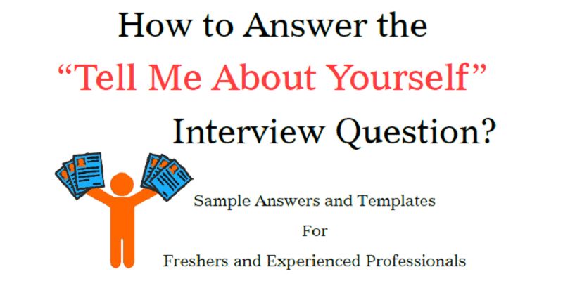 Tell me about yourself sample answers