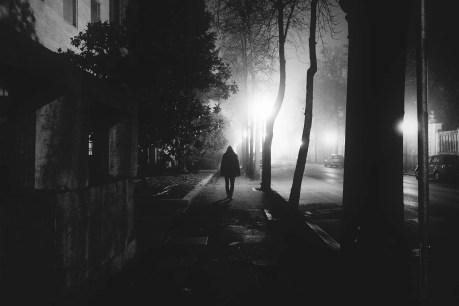 flank street at night