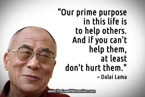 Hurt - Thoughts by the Dalai Lama