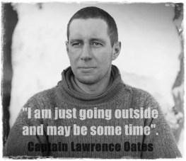 sacrifice - lawrence oates